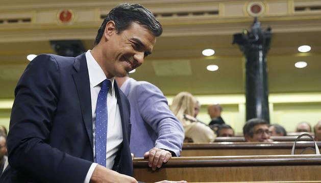 Sánchez llama a las fuerzas del cambio a desatascar el país