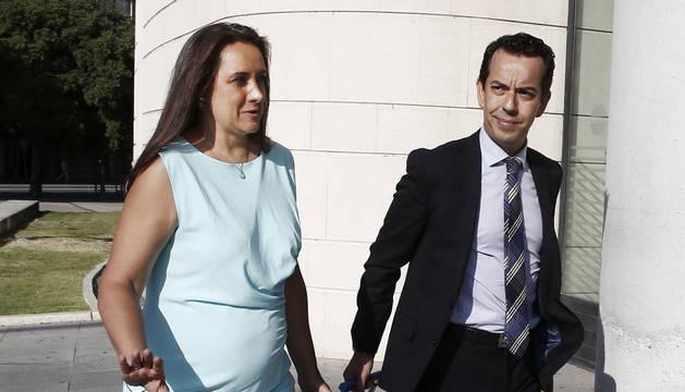 La letrada Carmen Sala, abogada de dos de los cinco procesados por la violación en Sanfermines.
