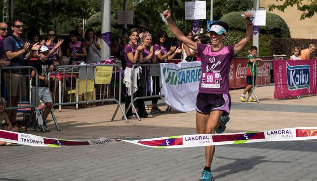 Maider Fraile fue la mejor en categoría absoluta femenina.