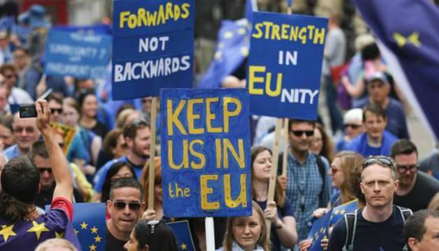 Una imagen de la marcha.