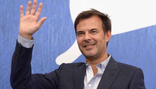 El francés François Ozon, durante la presentación de 'Frantz'.