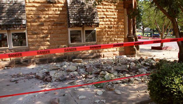 La localidad de Pawnee ha sido una de las más afectadas por el terremoto