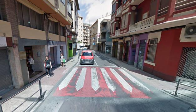 Calle Juan Antonio Fernández de Tudela.