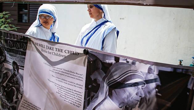 Teresa de Calcuta, la monja que se convirtió en