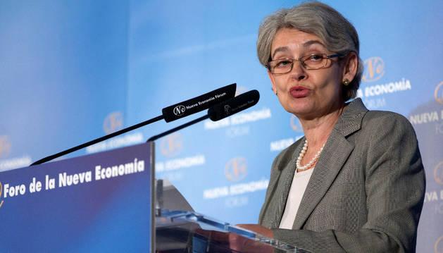 La búlgara Irina Bokova, una de las mujeres que aspiran al puesto.
