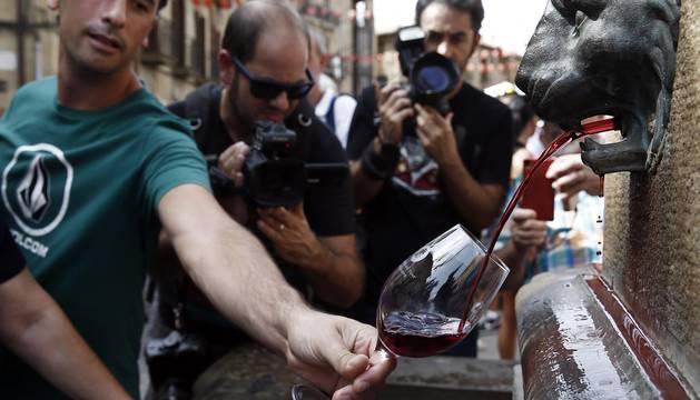 Apertura de la vendimia 2016 en Navarra