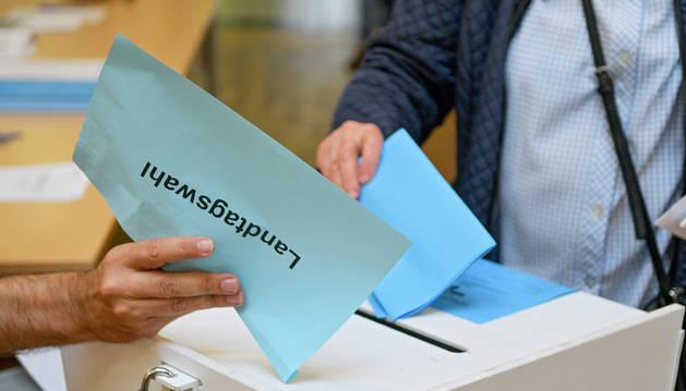Elecciones regionales en Alemania.