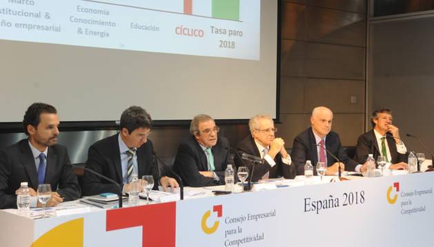 Grandes empresas piden redefinir el papel del Consejo para la Competitividad
