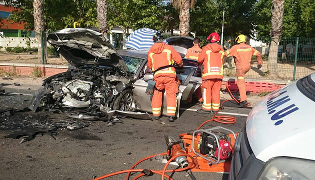 Accidente en Beniflà, Valencia, donde falleció un menor.