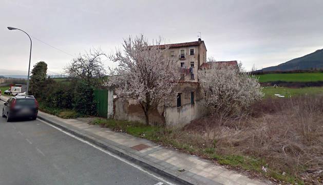 La calle Ximénez de Rada, a la altura del número 3.