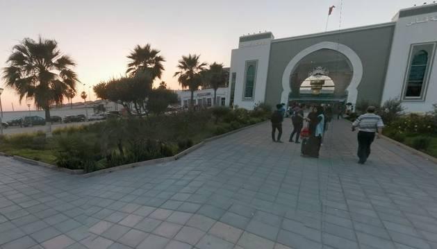 Estación Puerta de Fez (Marruecos).