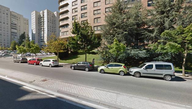 La calle Miluze, donde tuvo lugar el accidente.