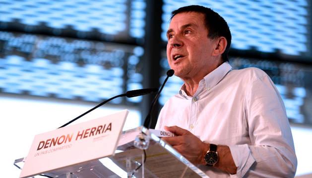 El dirigente abertzale Arnaldo Otegi.