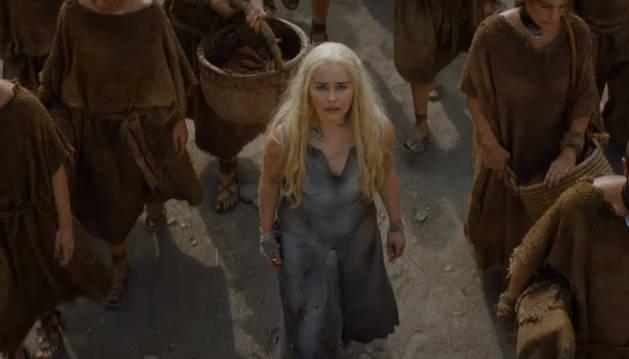 Daenerys Targaryen, en 'Juego de Tronos'.