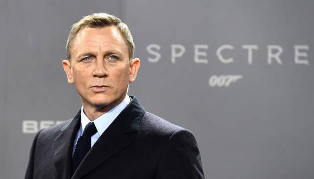 Daniel Craig, el actor que ha encarnado a James Bond en las últimas películas de la saga.