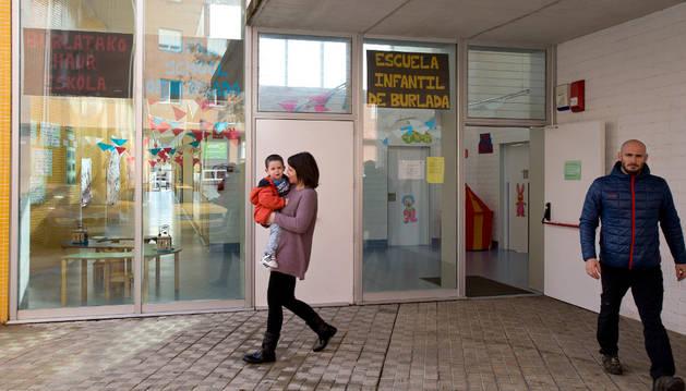 La escuela infantil de Burlada.