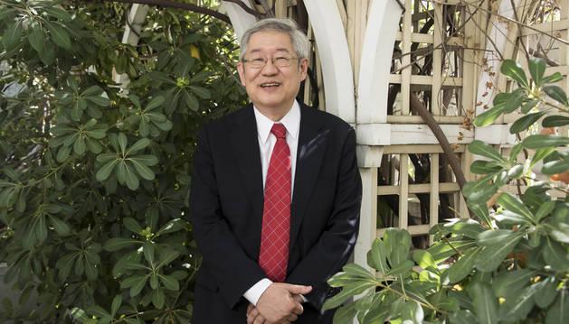 El vicepresidente de la Agencia de Exploración Aeroespacial de Japón (JAXA), Suku Tsuneta