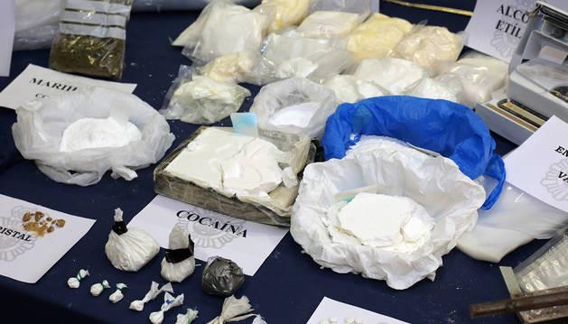 Una operación contra el tráfico de drogas.