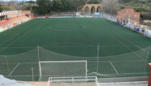 Panorámica del estadi del Vilar, donde sucedieron los hechos.
