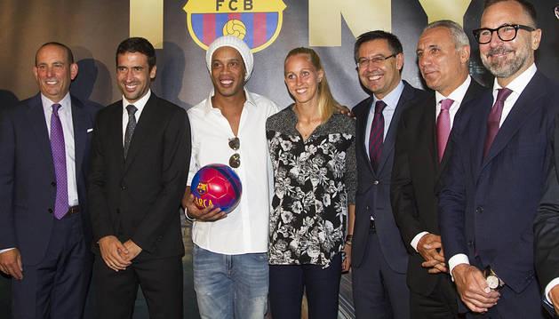 El FC Barcelona inaugura su oficina en Nueva York