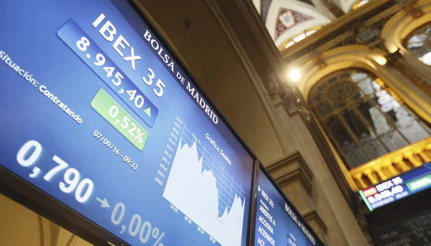 La Bolsa española sube el 0,40% tras la apertura.