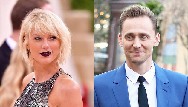 Taylor Swift y Tom Hiddleston.