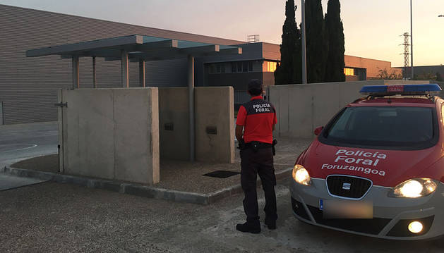 Fallece un trabajador en un accidente laboral en  Tudela