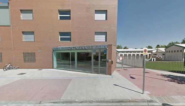 Los hechos se produjeron en el colegio Catalina de Foix de Zizur Mayor.