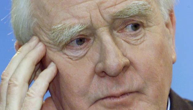 El novelista John Le Carré.