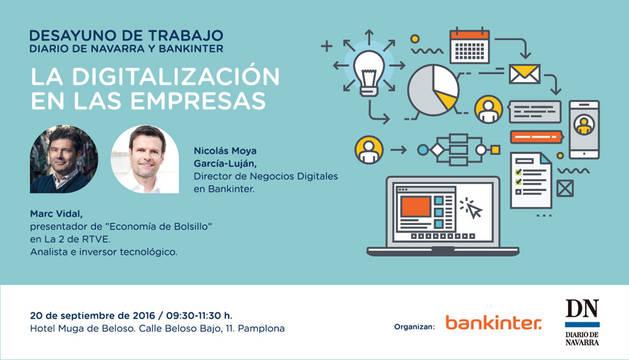 Desayuno de trabajo DN-Bankinter: La digitalización en las empresas