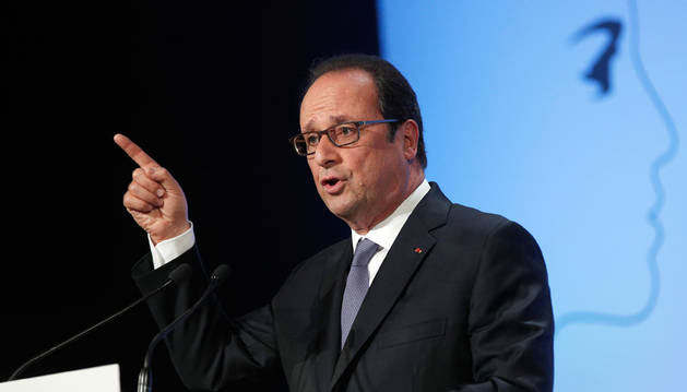 El presidente de Francia, François Hollande.