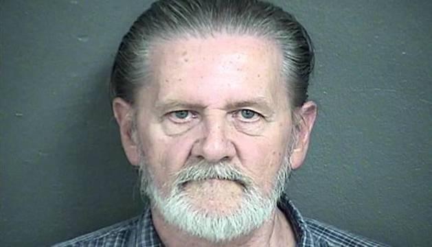 Lawrence Ripple en el momento de la detención.