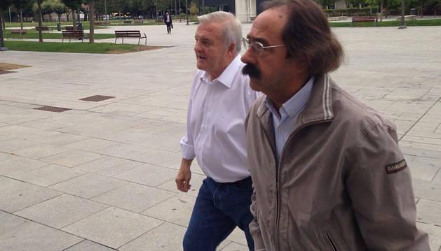 Izco, Vizcay y Suárez declaran en la Audiencia de Navarra