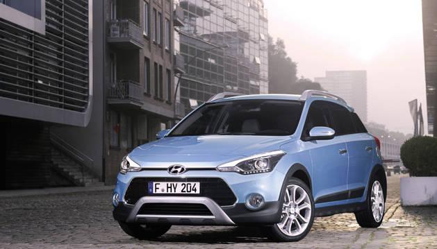 El Hyundai i20 Active es un urbano disfrazado de SUV.