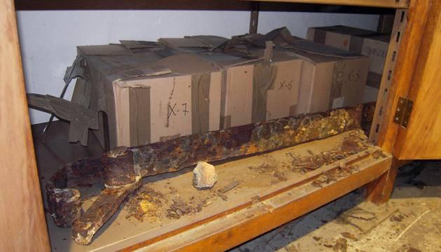Restos arqueológicos de Pamplona