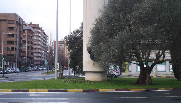 La plaza Juan XXIII, en el barrio de San Juan.