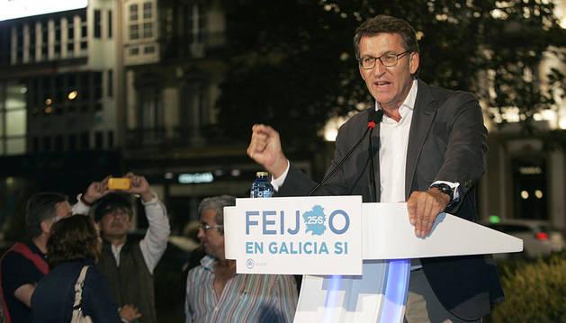 Todos contra Feijóo en el arranque de la campaña en Galicia