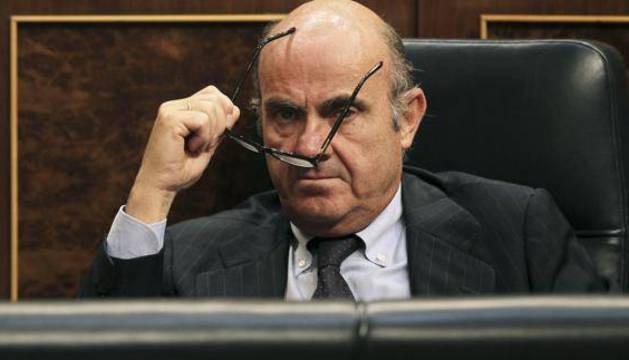 El ministro en funciones de Economía y Competitividad, Luis De Guindos.