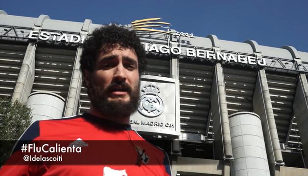 Captura del vídeo realizado por el cómico navarro Iñigo de Lascoiti