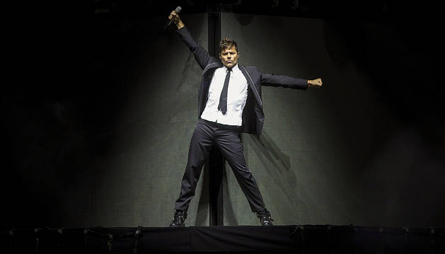 Ricky Martin desata la locura en Málaga