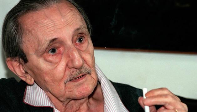 Una imagen del dramaturgo Antonio Buero Vallejo en 1999.