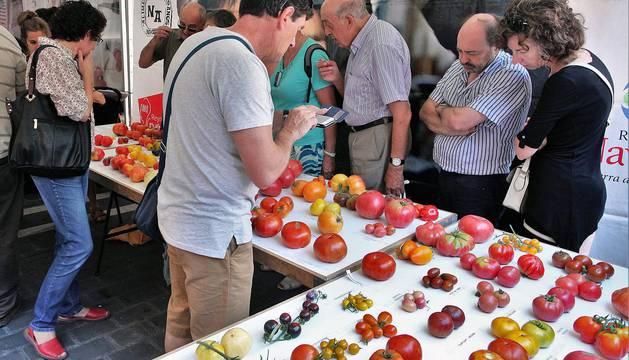 Mercado de los tres Burgos en Pamplona