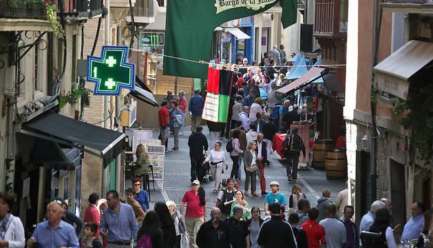 Celebración del Mercado medieval con motivo del Privilegio de la Unión de 2015.