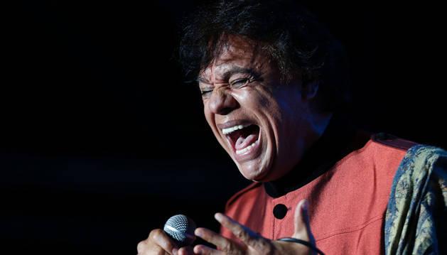 El cantante mexicano Juan Gabriel, fallecido el 28 de agosto.