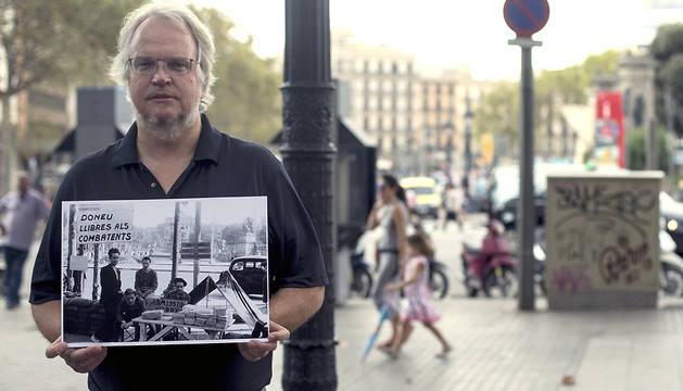 El escritor Serge Alternés, seudónimo de John Alexander Wainman, es el autor del libro 'Live Souls' ('Almas Vivas').