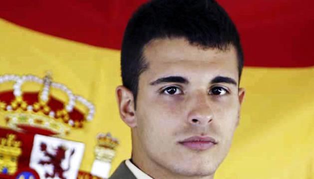 Imagen cedida por el Ministerio de Defensa del soldado español Aarón Vidal López, de 25 años y natural de Valencia.