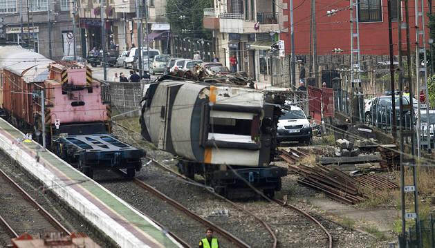 La jueza pide un informe independiente sobre el accidente de tren de Porriño