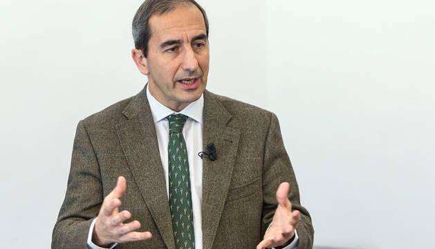 Alfonso Sánchez-Tabernero, rector de la Universidad de Navarra.