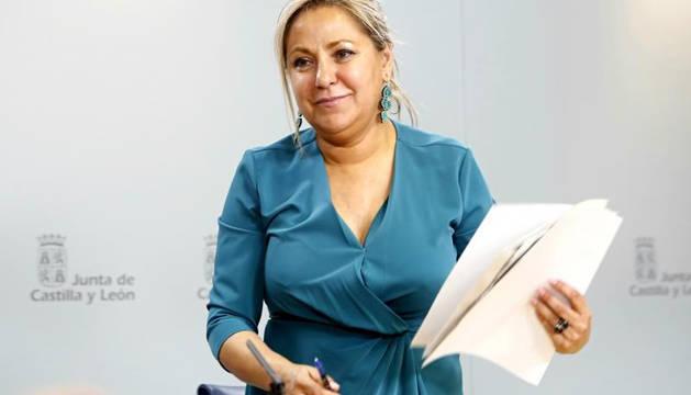 Rosa Valdeón, vicepresidenta de Castilla y León.