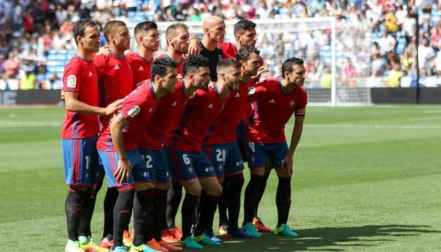 Imágenes del encuentro de la jornada 3 de LaLiga Santander disputado en el Santiago Bernabéu entre Real Madrid y el C.A. Osasuna que finalizó con victoria local.